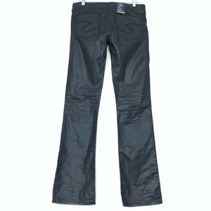 "Silver Jeans Tuesday 16 1/2"" 30 x 33 Black Wax"